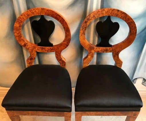 Pair of Biedermeier Chairs- view from above- styylish