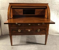 Louis XVI Cylinder Desk- open- styylish