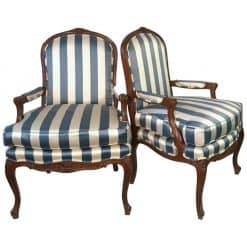 Pair of Louis XV Style Armchairs- 20th century- styylish