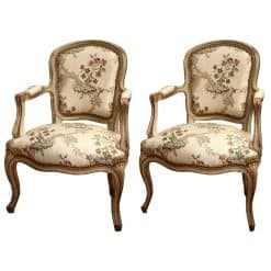 Louis XV Armchairs- 18th century- styylish
