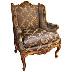 19th Century Gilded Wood Bergere- styylish