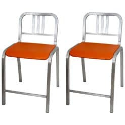 Pair of Emeco Bar Stools- 20th century- styylish