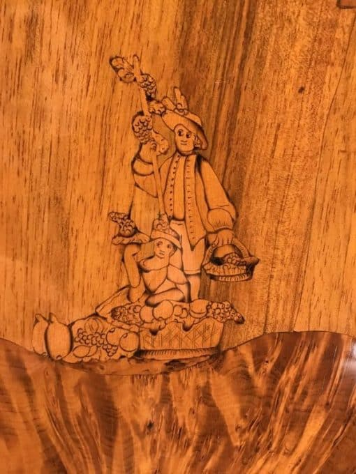 Antique Marquetry- marquetry- styylish
