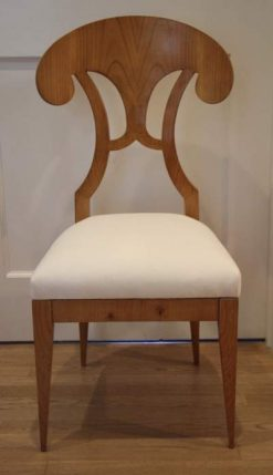 Set of Six Biedermeier Style Chairs- front- styylish
