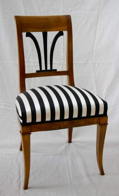 A Set of Six Biedermeier Chairs- front- styylish