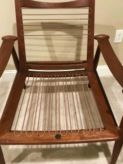 Mid Century Lounge Chair- without upholstery- styylish