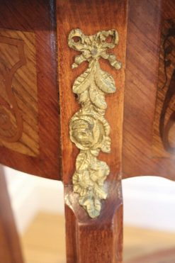 Pair of Louis XV Style Side Tables- detail- styylish