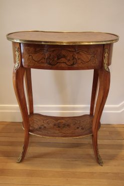Pair of Louis XV Style Side Tables- back- styylish