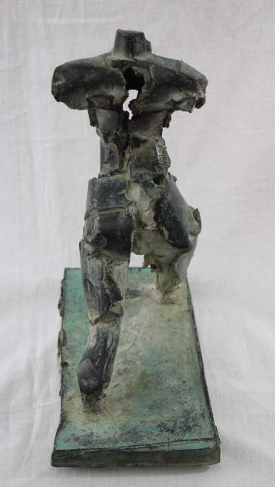 Bronze Sculpture Henry Neuman- back- styylish