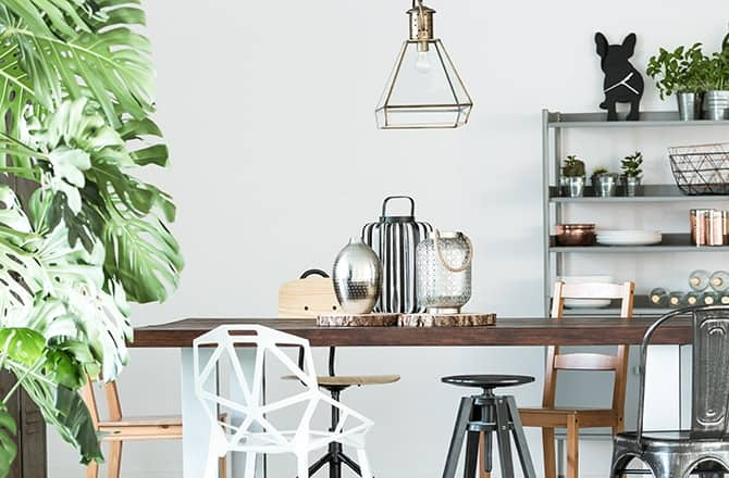 How To Mix Modern And Vintage Furniture - Kitchen