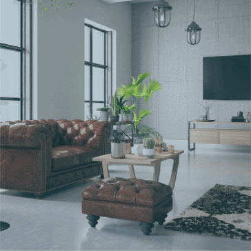 How To Mix Modern And Vintage Furniture - Living Room
