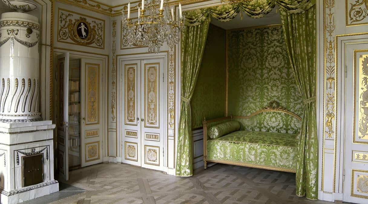 Gustavian - The Customs Castle, the Great Bed Chamber