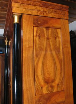 Biedermeier Wardrobe- side- styylish