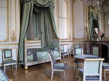 Empire Furniture - Bedroom of Napoleon in the Rohan Palace