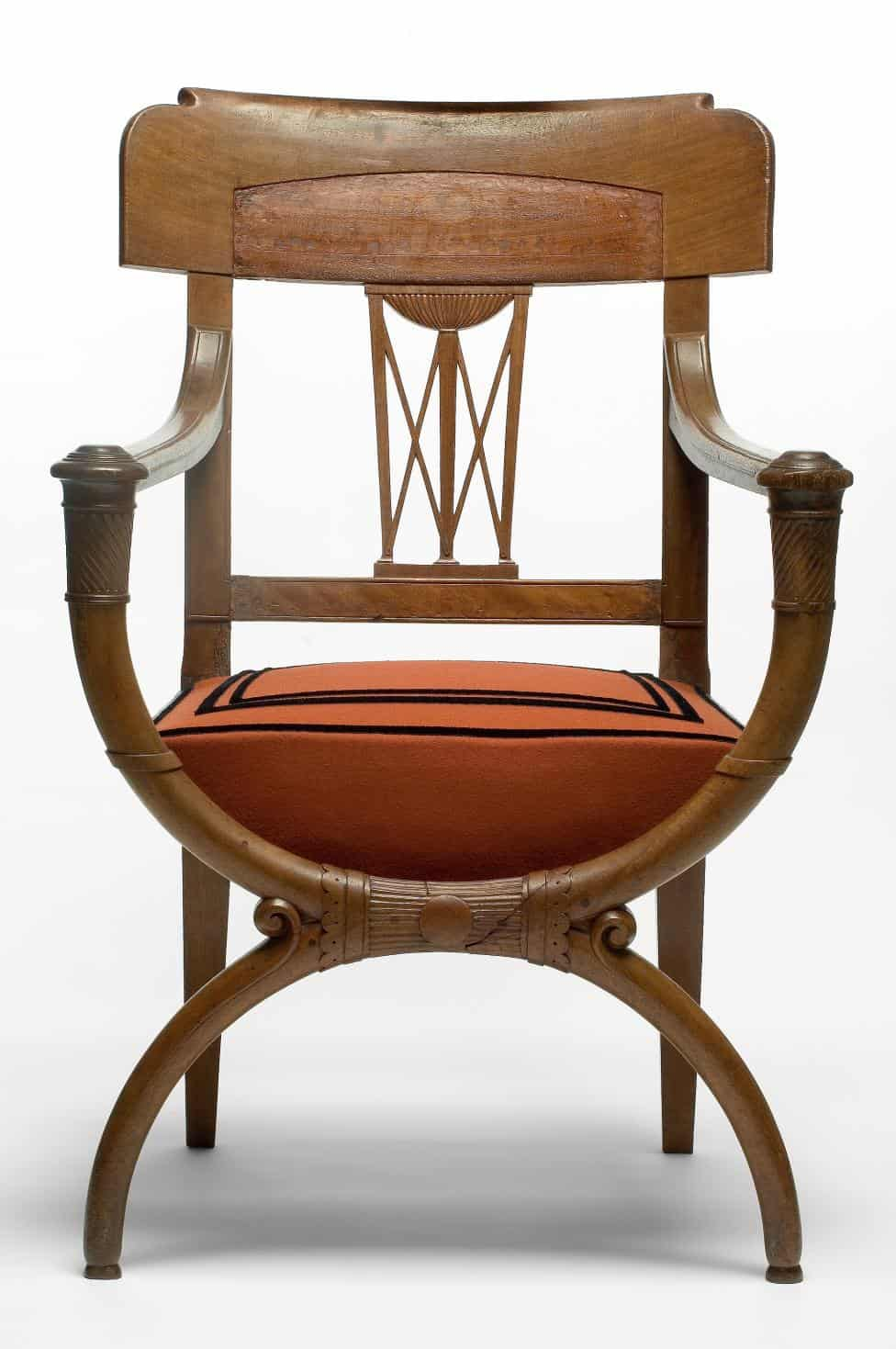 French Furniture - Curule Armchair