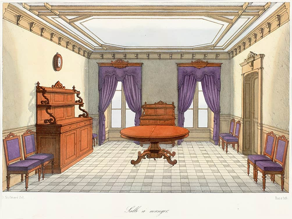 French Furniture - Directoire Style Interior