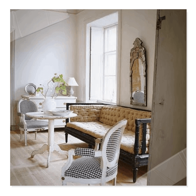 Gustavian - An Example Of Natural Light In A Room