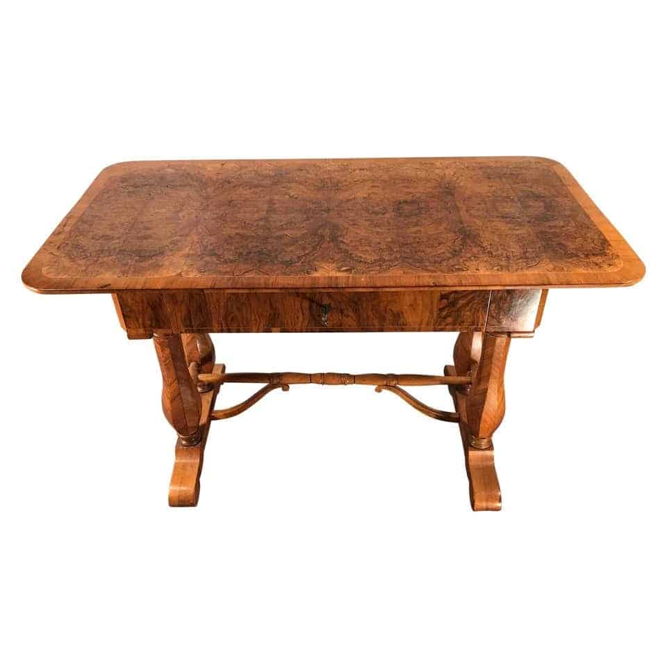 Biedermeier Walnut desk-styylish