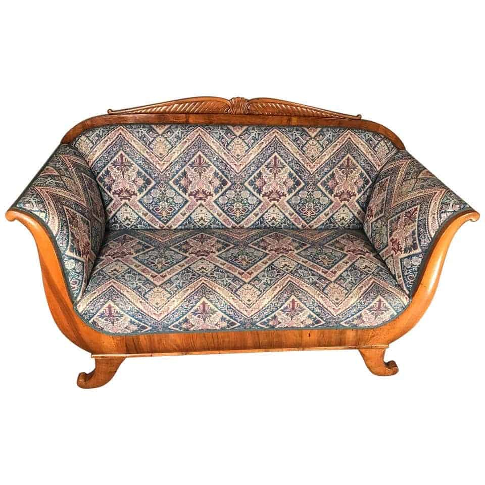 Sofa - Biedermeier Sofa Germany 1820-30 - Styylish