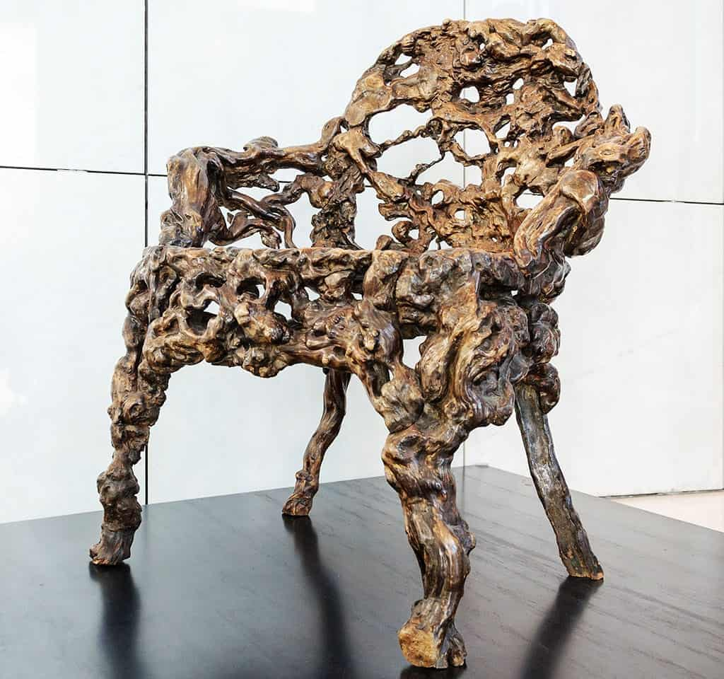 Chairs - Chinese Rootwood Chair