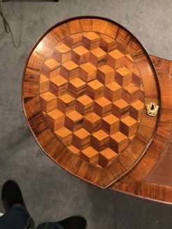 Louis XVI working table- closeup marquetry- styylish
