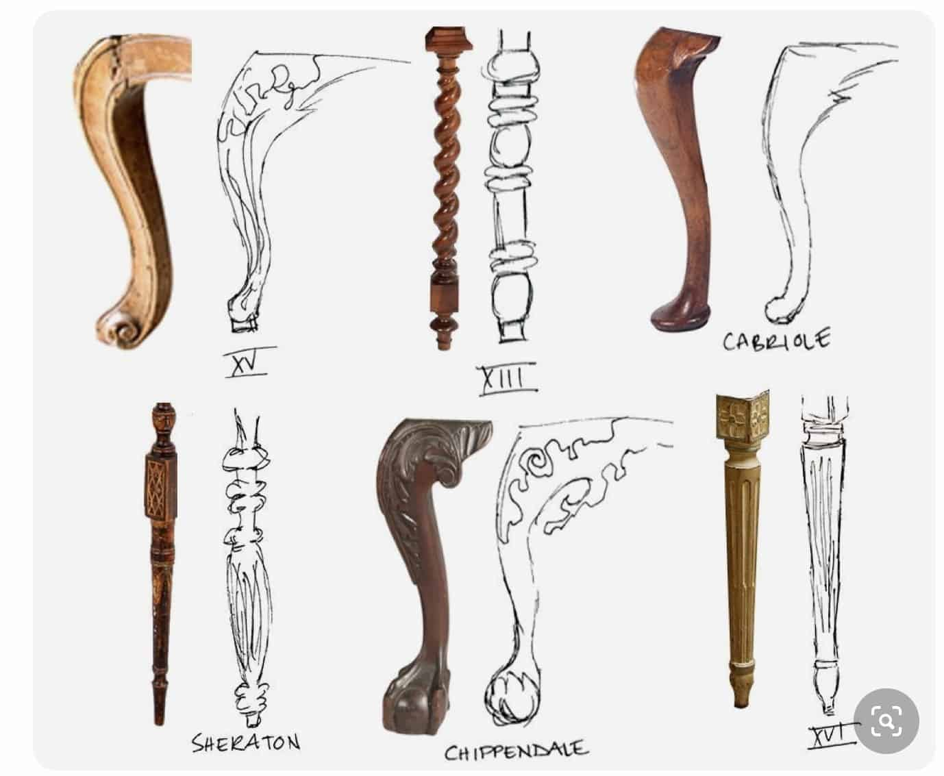 Furniture Leg Styles A Guide For