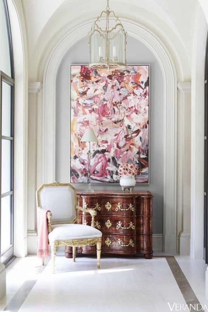 Baroque Period - Chest Of Drawers In A Bright Sitting Area