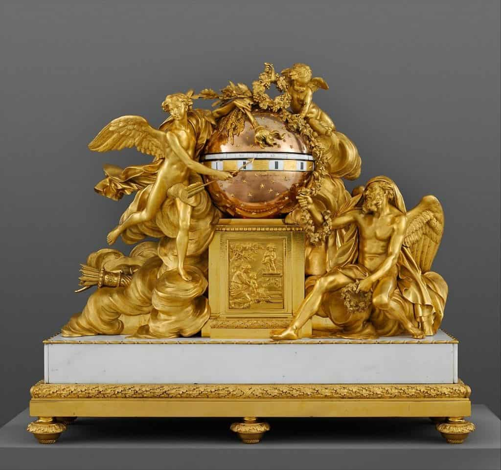 French ormolu-mantel-clock- styylish