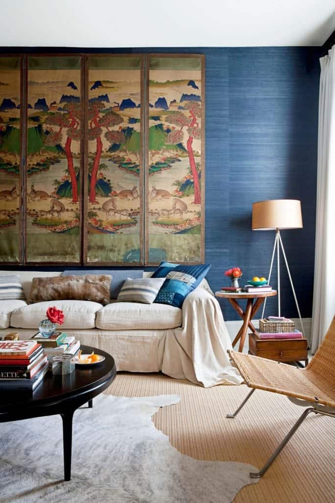 Textural Wallpapers in interior designs