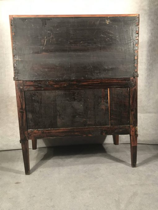 Antique Cylinder Desk- back- styylish