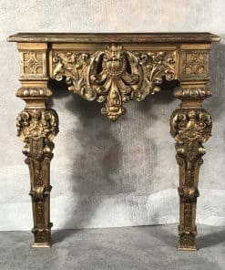 Giltwood Console Table- front- styylish