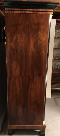 Biedermeier Wardrobe walnut- side- styylish