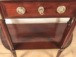 French Antique Console Table- closeup- styylish