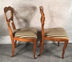 Pair of Biedermeier Chairs- side- styylish