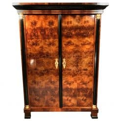 Biedermeier Wardrobe walnut- 19th century- styylish