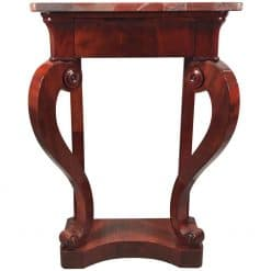 Biedermeier Console Table- mahogany- styylish