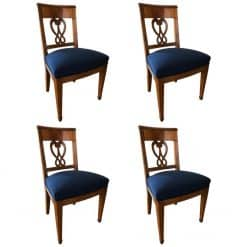 Set of four Biedermeier Chairs- styylish