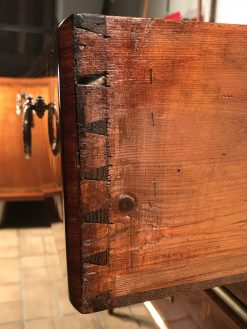 Antique Louis XVI Dresser- detail of drawer- styylish