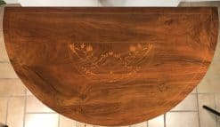 Biedermeier Console Table- closeup top- styylish