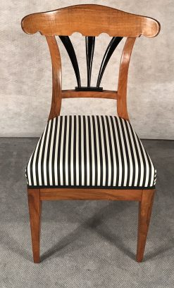 Six Biedermeier Chairs- front- styylish