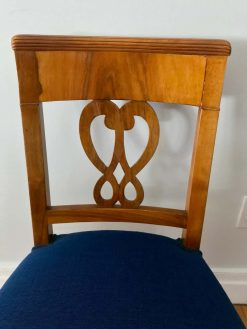 Set of four Biedermeier Chairs- seat back- styylish
