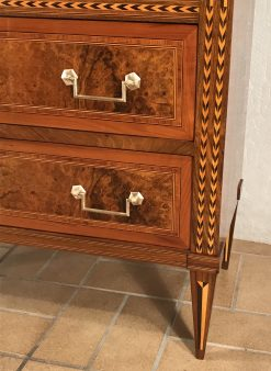 Antique French Desk- detail of drawer- styylish