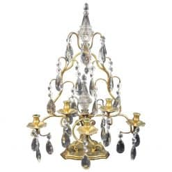 Cut Glass Candelabrum- styylish