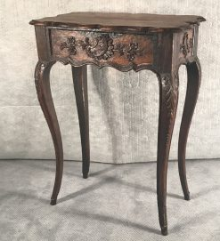 Baroque Side Table- Three-quarter view- styylish