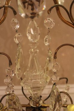 Cut Glass candelabrum- detail- Styylish