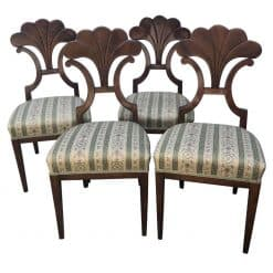 Four Biedermeier Chairs- Styylish