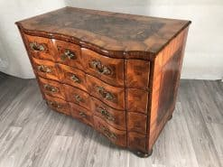 Baroque furniture- three quarter view of a chest- styylish