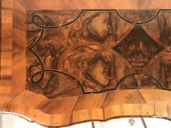 Baroque furniture- left side of a top of a chest of drawers- styylish