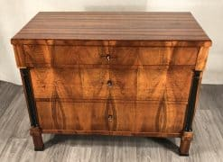 Biedermeier walnut chest- front- styylish