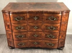 Baroque furniture- front view of a chest- styylish